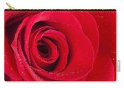 Rose Macro Wet 1 B Carry-all Pouch