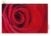 Rose Macro Wet 1 C Carry-all Pouch
