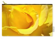 Rose Petal Flower Yellow Colorful Rose Floral Baslee Carry-all Pouch