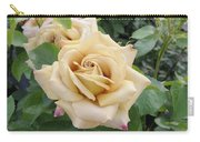 Rose Rosa Sp Honey Dijon Variety Flowers Carry-all Pouch