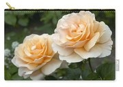 Rose Rosa Sp Just Joey Variety Flowers Carry-all Pouch