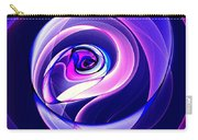 Rose Series - Violet-colored Carry-all Pouch