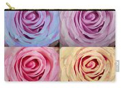 Rose Spiral Colorful Mix Carry-all Pouch