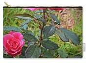 Rose Vignette Carry-all Pouch