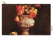 Roses In Urn Carry-all Pouch