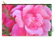 Roses Perfectly Pink Carry-all Pouch