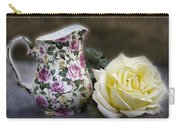 Roses Speak Of Romance Carry-all Pouch