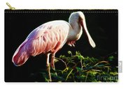 Rosette Spoonbill Shimmering Carry-all Pouch