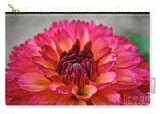 Rosy Dahlia Carry-all Pouch
