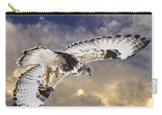 Rough Legged Hawk In Flight Carry-all Pouch