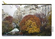 Round Autumn Trees Carry-all Pouch