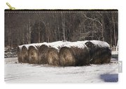 Round Hay Bales Carry-all Pouch