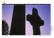 Round Tower And High Cross Carry-all Pouch