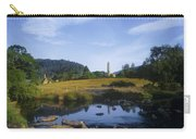 Round Tower In The Forest Glendalough Carry-all Pouch