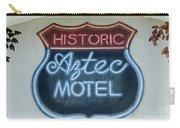 Route 66 Aztec Hotel Mural Carry-all Pouch