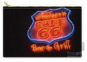 Route 66 Bar And Grill Carry-all Pouch