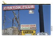 Route 66 Canyon Club Carry-all Pouch