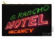 Route 66 El Rancho Carry-all Pouch