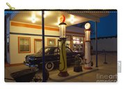 Route 66 Garage At Night Carry-all Pouch
