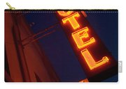 Route 66 Hotel Williams Carry-all Pouch