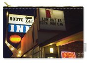 Route 66 Inn Carry-all Pouch