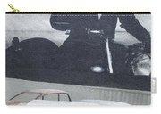 Route 66 Marlon Brando Mural Carry-all Pouch