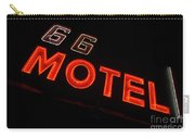 Route 66 Motel Neon Carry-all Pouch
