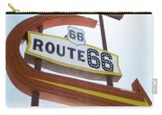 Route 66 Motel Sign 1 Carry-all Pouch
