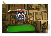 Route 66 Neon Sign 1 Carry-all Pouch