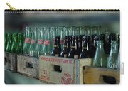 Route 66 Odell Il Gas Station Cases Of Pop Bottles Digital Art Carry-all Pouch