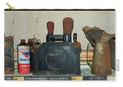 Route 66 Odell Il Gas Station Shelf Items Digital Art Carry-all Pouch