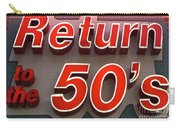 Route 66 Return To The 50s Carry-all Pouch