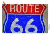 Route 66 Wall Art-2 Carry-all Pouch