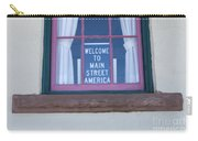 Route 66 Welcome Sign Carry-all Pouch