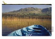 Row Boat Amongst Reeds On A Lake Carry-all Pouch