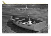 Row Boat On The Shore Of Lake Ontario In Toronto Carry-all Pouch