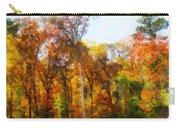 Row Of Autumn Trees Carry-all Pouch