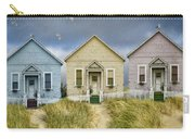 Row Of Pastel Colored Beach Cottages Carry-all Pouch