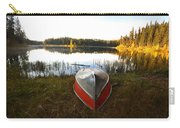 Rowboats At Jade Lake In Northern Saskatchewan Carry-all Pouch