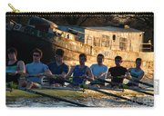 Rowers At Sunset Carry-all Pouch