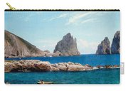 Rowing Off The Rocks Carry-all Pouch