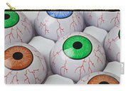 Rows Of Eyeballs Carry-all Pouch