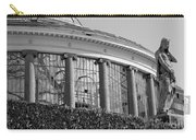 Royal Conservatory In Brussels - Black And White Carry-all Pouch