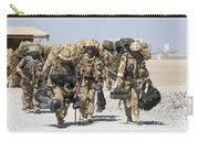 Royal Marines Haul Their Equipment Carry-all Pouch