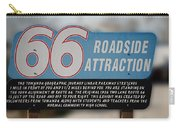 Rt 66 Towanda Il Parkway Signage Carry-all Pouch