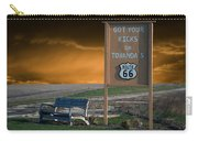 Rt 66 Towanda Signage Carry-all Pouch