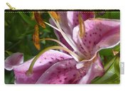 Rubrum Lily Carry-all Pouch