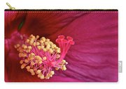 Ruby Hibiscus Carry-all Pouch
