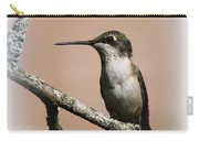 Ruby-throated Hummingbird - Totally Innocent Carry-all Pouch
