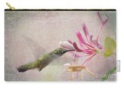 Ruby Throated Hummingbird #3 Carry-all Pouch